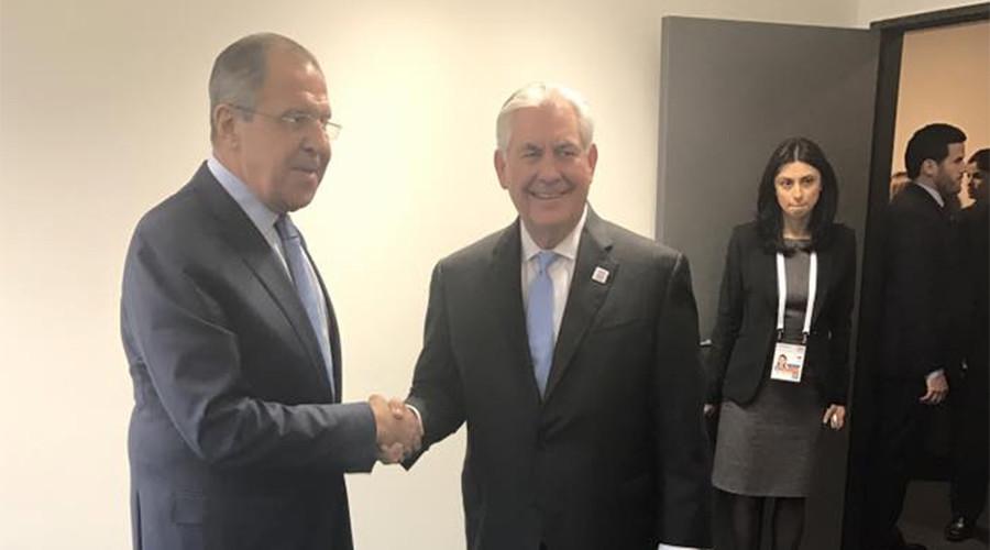 'Productive' 1st meeting: Lavrov & Tillerson discuss Syria & Ukraine, but not sanctions