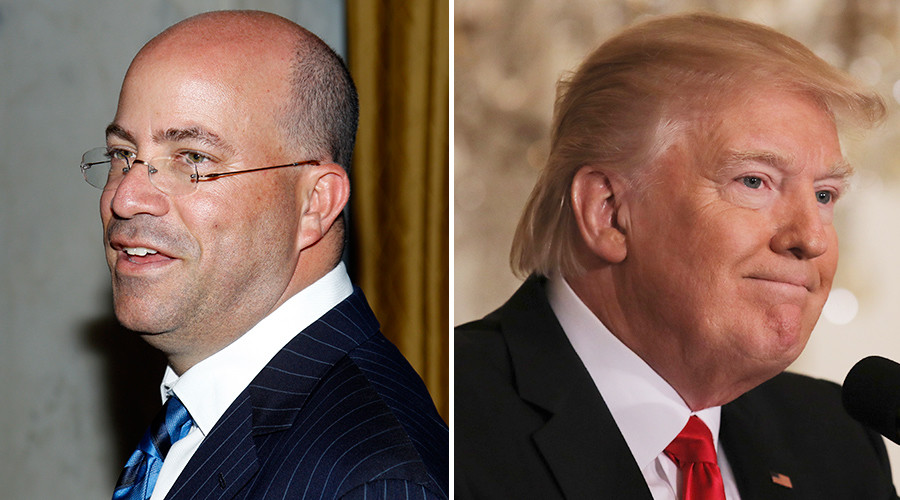 'Good times, money following': CNN president praises Trump-bashing agenda