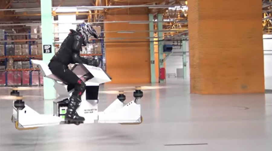 Epic Russian-made hoverbike like something out of Star Wars (VIDEO)