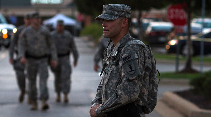 White House denies AP report of plan for 100,000 troops to round up immigrants