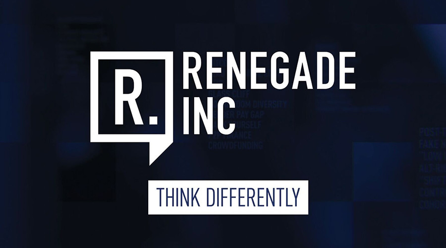 'Think Different': New RT show 'Renegade Inc' aims to offer an alternative view on everyday life