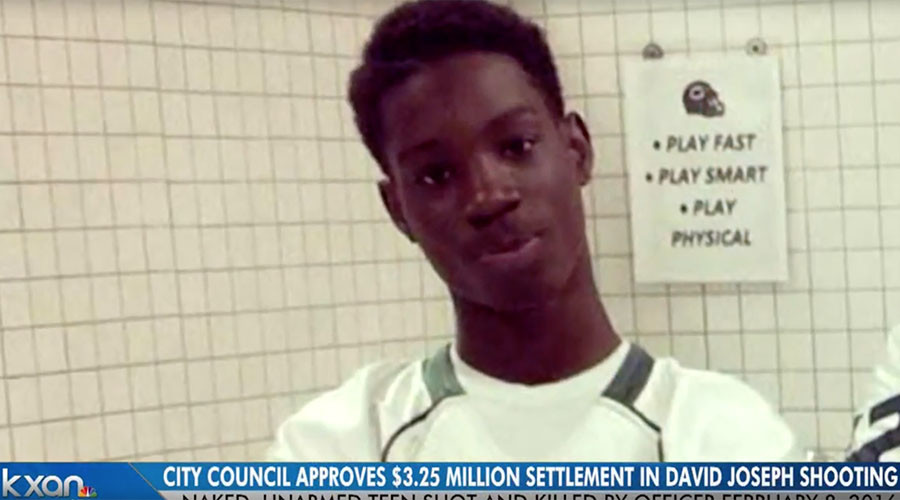 Police shooting of unarmed Texas teen settled for $3.25 million