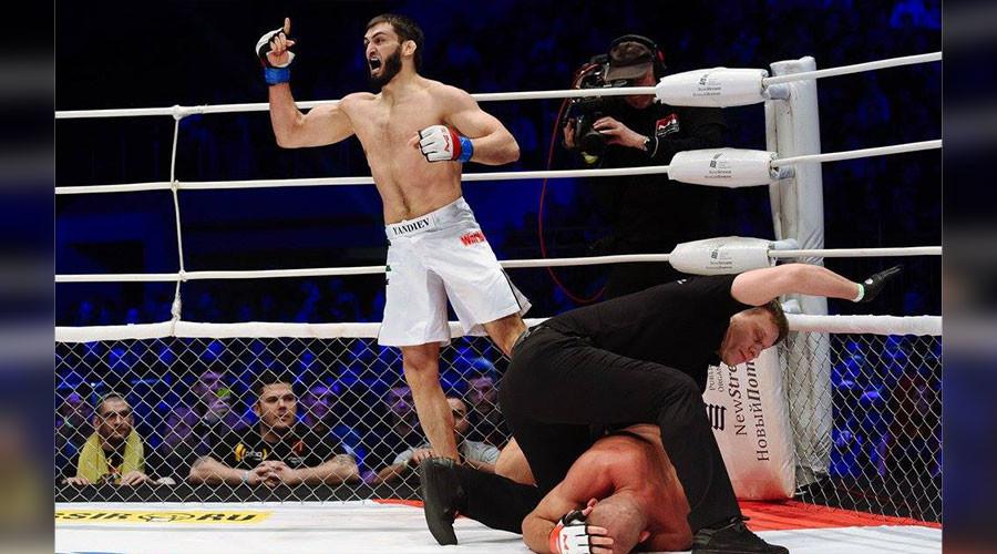 Explosive Yandiev destroys M-1 champ in 67 seconds, wants UFC move next (VIDEO)