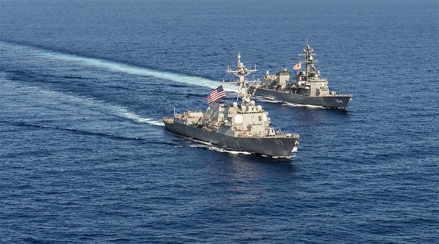 Chinese fear US military 'tightening the encirclement' of their country