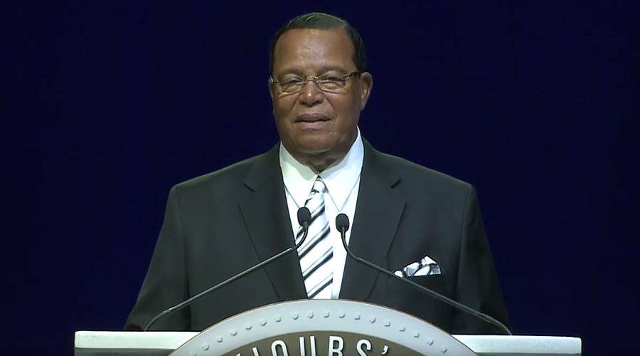 'Have you got justice yet?': Nation of Islam leader criticizes Trump, Democrats