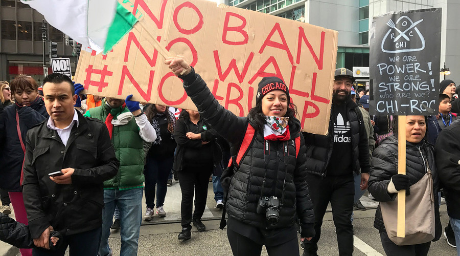 Dozens of workers fired for 'Day Without Immigrants' protest