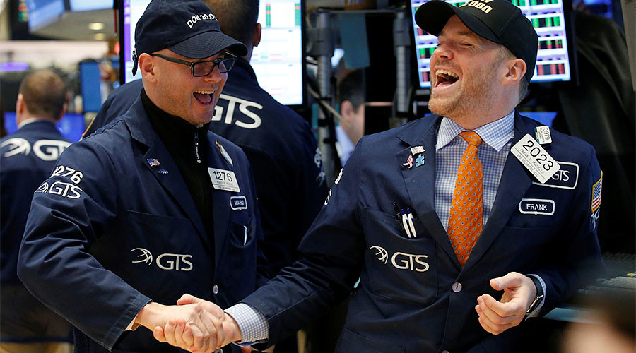 US stock market record rally irrational – Goldman Sachs