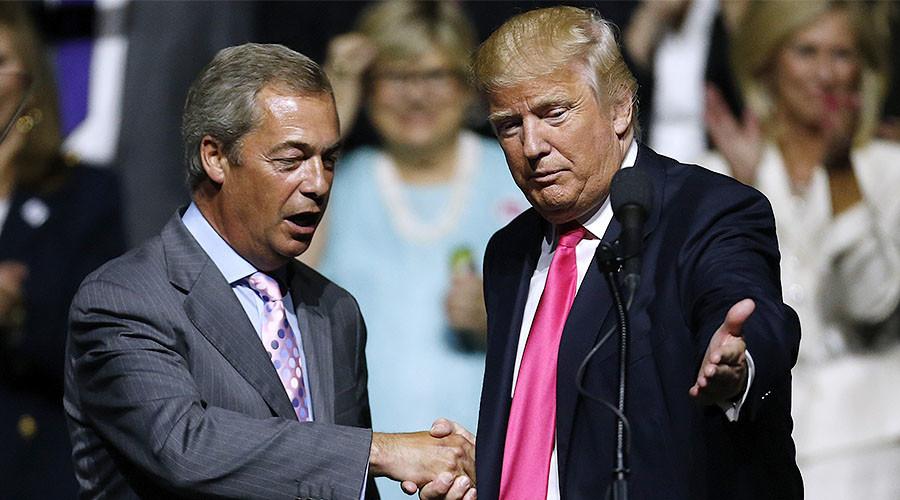Nigel Farage calls Swedish city 'rape capital of Europe' in show of solidarity with Trump
