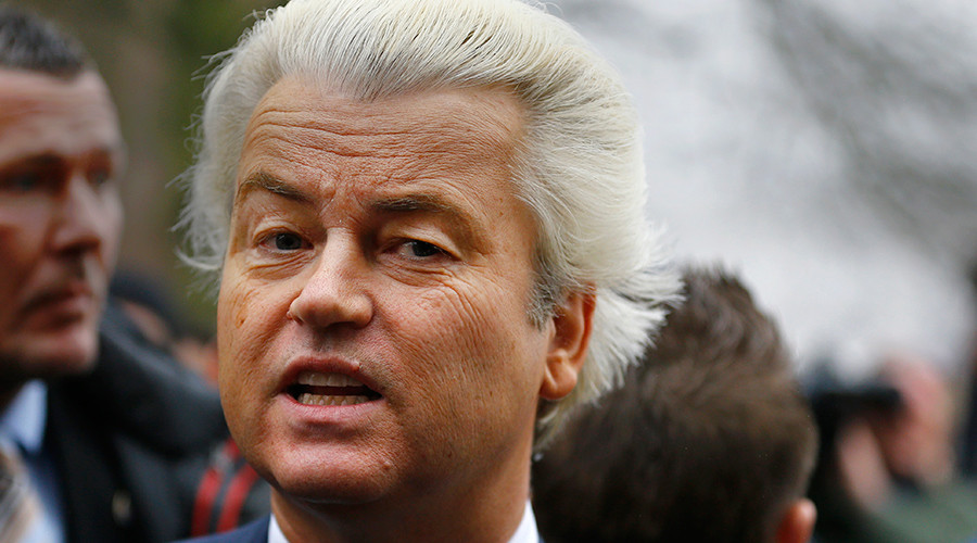 Freedom & Islam 'not compatible,' says far-right Dutch politician Geert Wilders — RT News