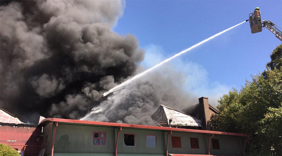 Massive fire sends smoke plume over Sydney (PHOTOS, VIDEO)