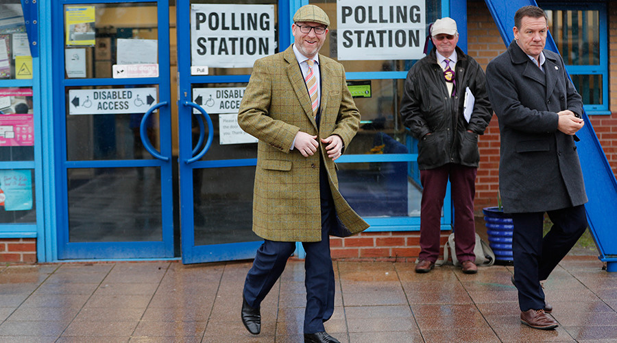 Could storm Doris blow UKIP to victory in Stoke Central by-election… and topple Labour?