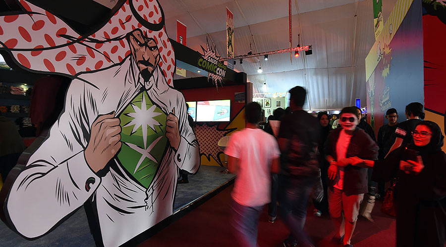 Saudi Arabia's first Comic Con penalized for 'violation'