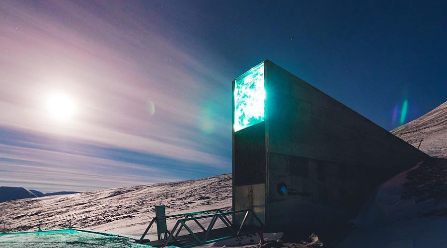 'Doomsday vault': Emergency Arctic facility receives 50k seed deposits