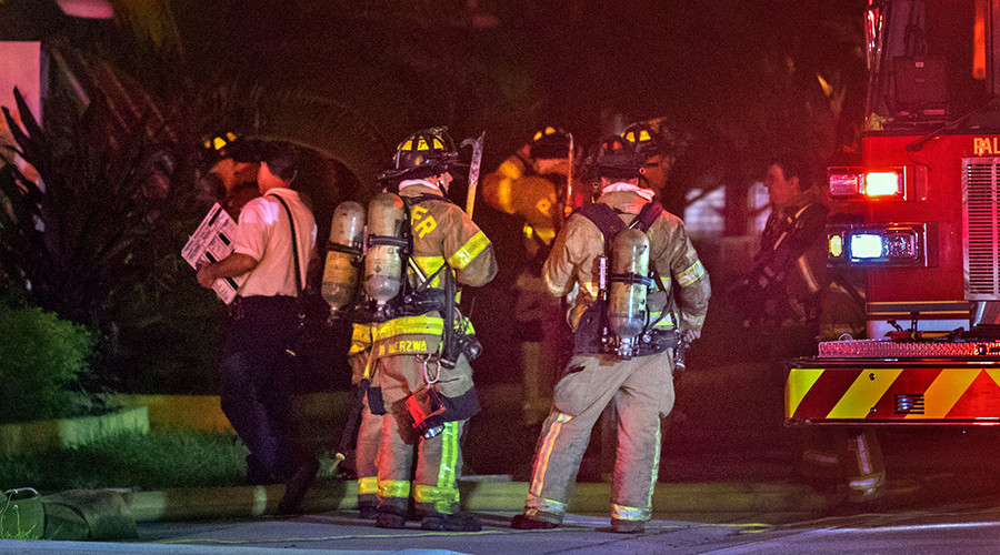 Florida mosque fire was deliberately set, $5k reward offered