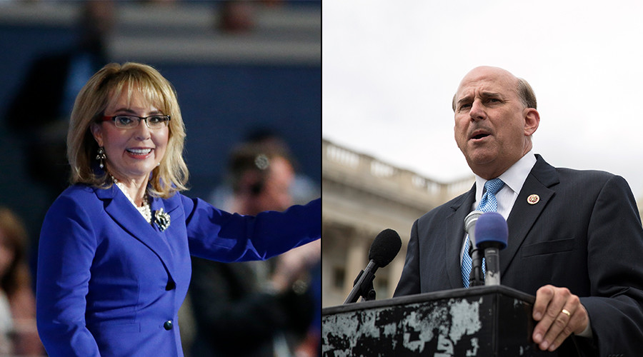 'Face your constituents': Gabby Giffords berates lawmaker for shooting threat excuse