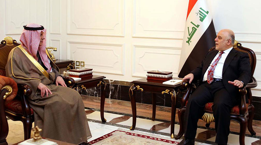 Saudi foreign minister makes landmark visit to Iraq