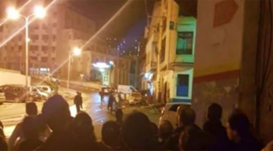 Officers injured in suicide blast at Algeria police station – report