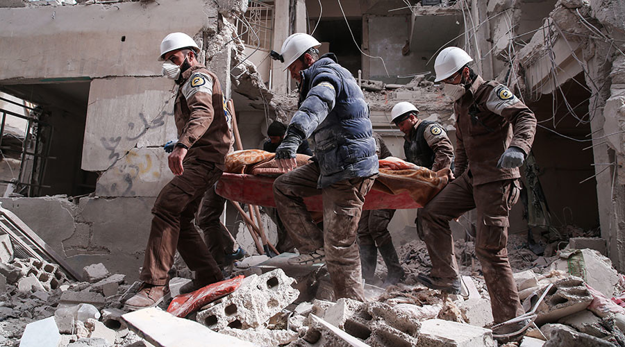 Film about Syrian White Helmets wins Oscar amid allegations of terrorist ties