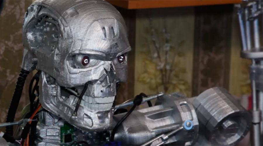 Trust me: Terminator-style cyborg created in Russia (VIDEO)