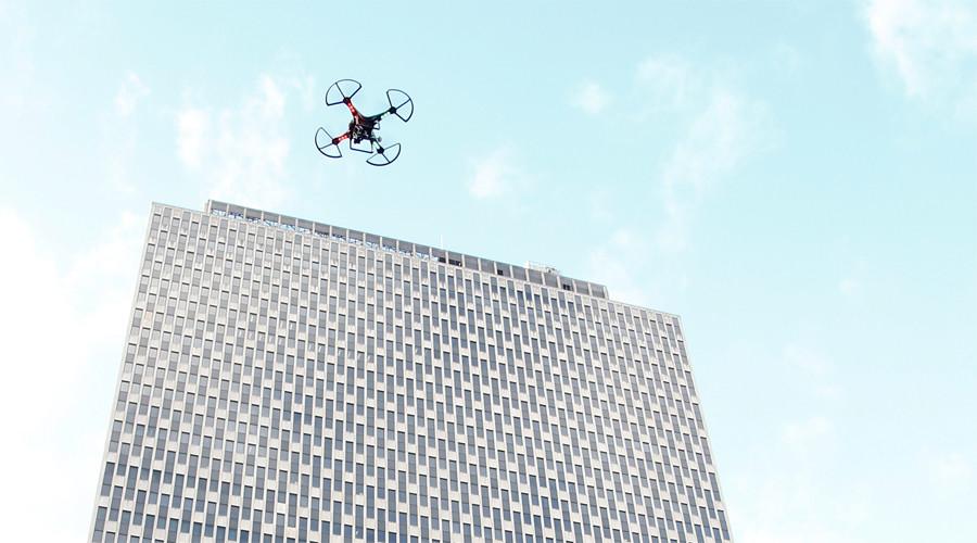 Home invasion: Drone smashes through New York apartment window