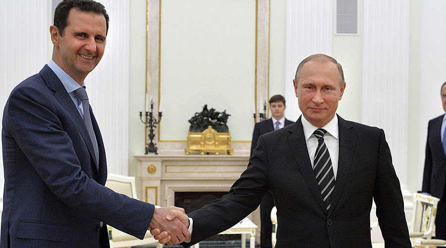 Putin: 'Inappropriate' to introduce new sanctions against Syria govt