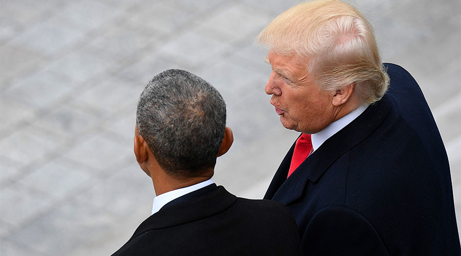 'Obama & his people' behind White House leaks, protests – Trump