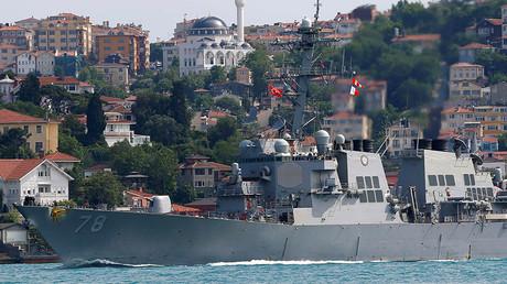 U.S. Navy guided-missile destroyer USS Porter © Murad Sezer