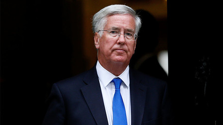 Britain's Secretary of State for Defence Michael Fallon © Stefan Wermuth