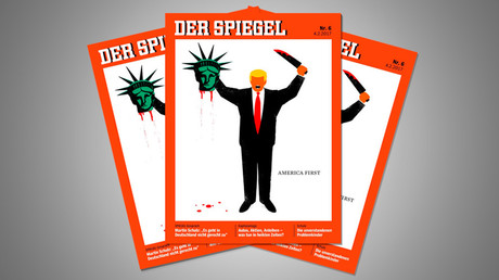 Der spiegel editor in chief defends beheading cover for Magazin der spiegel