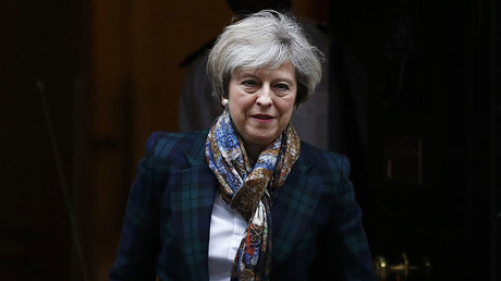Britain's Prime Minister Theresa May. ©Peter Nicholls