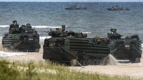 FILE PHOTO More than five thousand air, sea and ground troops take part in a multinational NATO maritime exercise in the Baltic Sea © Agencja Gazeta