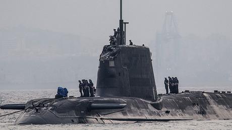 Nuclear submarine HMS Ambush. © Dm Parody