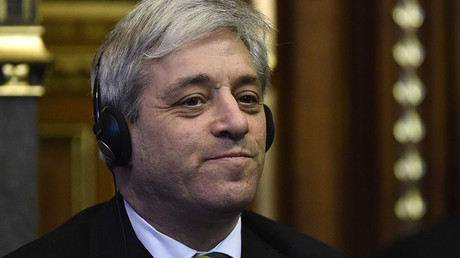 Speaker of the House of Commons, John Bercow. © Toby Melville