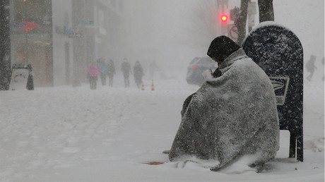 Nor'easter slams New York & New England with blizzard-like conditions