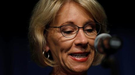 U.S. Education Secretary Betsy DeVos © Jonathan Ernst