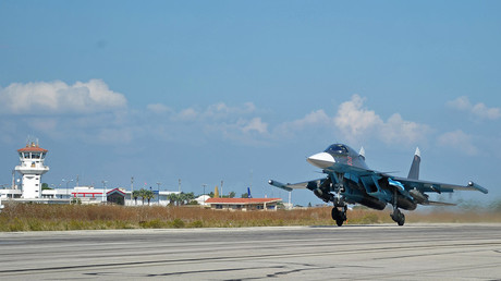 A multifunctional fighter-bomber Su-34 of the Russian Aerospace Forces © Dmitriy Vinogradov