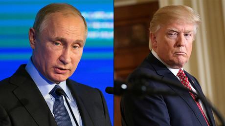 Russian President Vladimir Putin and U.S. President Donald Trump © Reuters