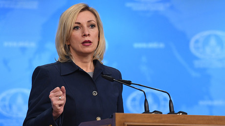 Russian Foreign Ministry Spokesperson Maria Zakharova © Sergey Pyatakov