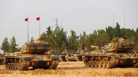 FILE PHOTO Turkish army tanks © Umit Bektas / Reuters