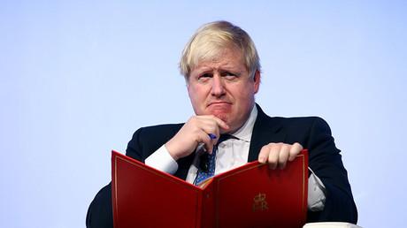 Britain's Foreign Secretary Boris Johnson. ©Alessandro Bianchi