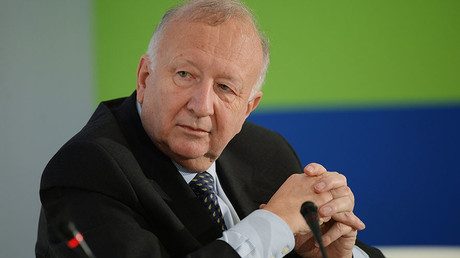 Former Parliamentary State Secretary in Germany's Defense Ministry and Ex-Vice President of the OSCE's Parliamentary Assembly Willy Wimmer. ©Mikhail Voskresenskiy