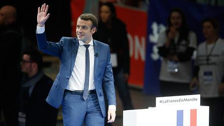Emmanuel Macron © Robert Pratta