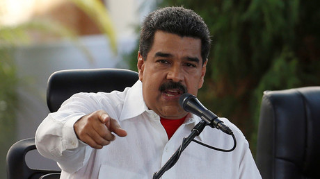 Venezuela's President Nicolas Maduro. ©Carlos Garcia Rawlins