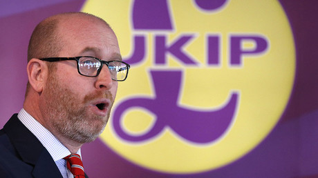 UKIP leader and Stoke Central by-election candidate Paul Nuttall. ©Darren Staples