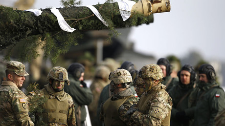 U.S. and Polish army soldiers © Kacper Pempel