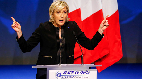 Marine Le Pen, French National Front (FN) political party leader and candidate for the French 2017 presidential election © Robert Pratta