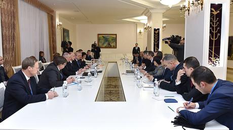 FILE PHOTO. Meeting on Syria in Astana. ©Ilyas Omarov
