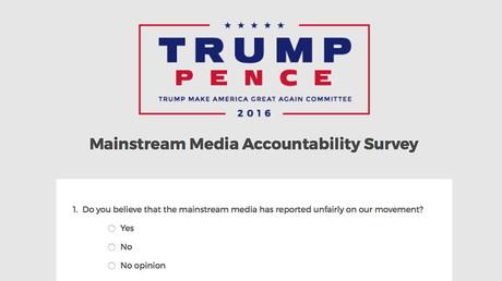 Tensions between Trump & media 'unhealthy,' restrict news access – poll