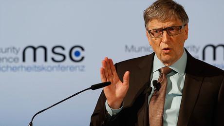 Microsoft founder Bill Gates © Michaela Rehle
