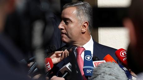 Montenegrin Prime Minister and leader of Democratic Party of Socialists, Milo Djukanovic © Stevo Vasiljevic